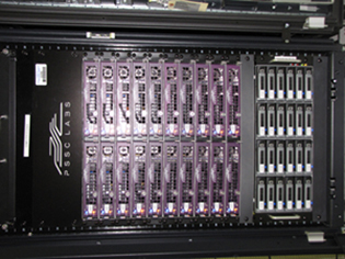 20-node 160 core Beowulf cluster