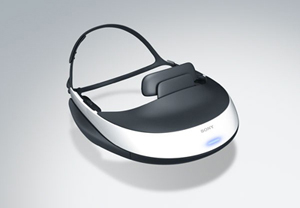 Sony HMZ-TI Personal 3D Viewer Head Mounted Display